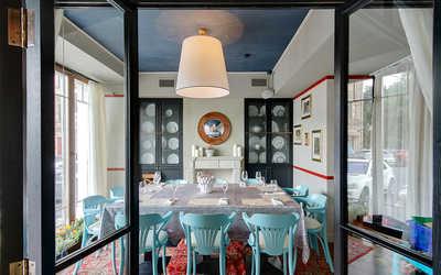 Банкетный зал бара, ресторана Образ Жизни на улице Пречистенка