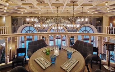 Банкетный зал ресторана Павильон в Большом Патриаршем переулке