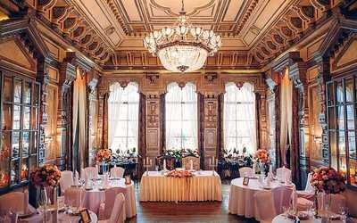 Банкетный зал ресторана Паризьен на Ленинградском проспекте