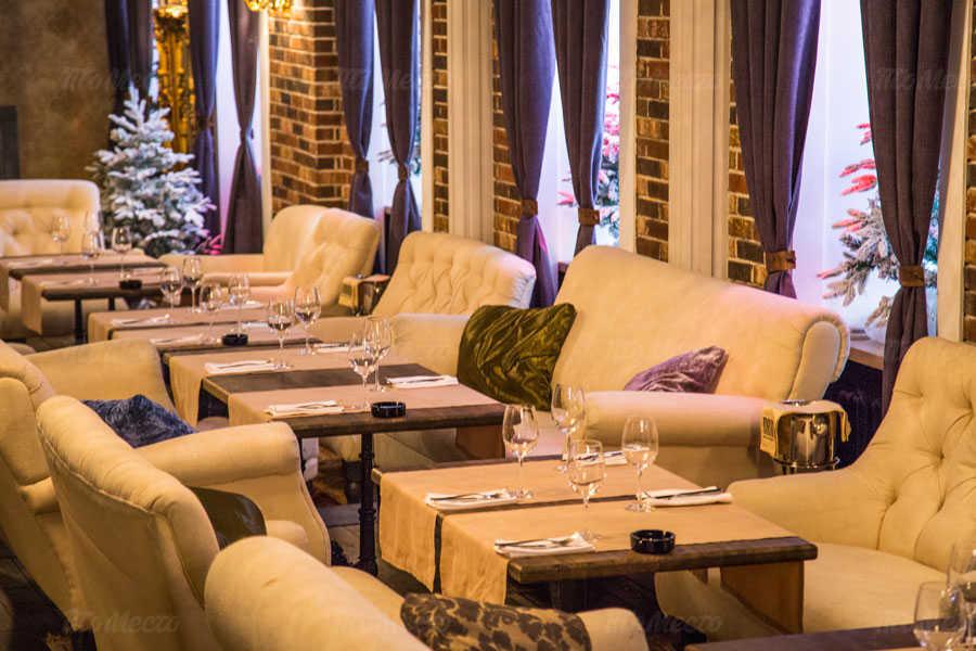 Меню бара, ресторана Папа (Papa) на Тверской улице