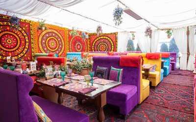 Банкетный зал ресторана Чайхана Павлин-Мавлин на улице Строителей фото 2