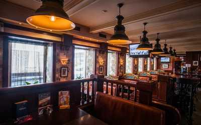 Банкетный зал паба Темпл бар (Temple bar) на Большой Грузинской улице фото 2