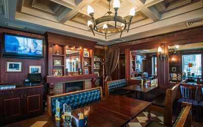 Банкетный зал паба Темпл бар (Temple bar) на Большой Грузинской улице фото 3