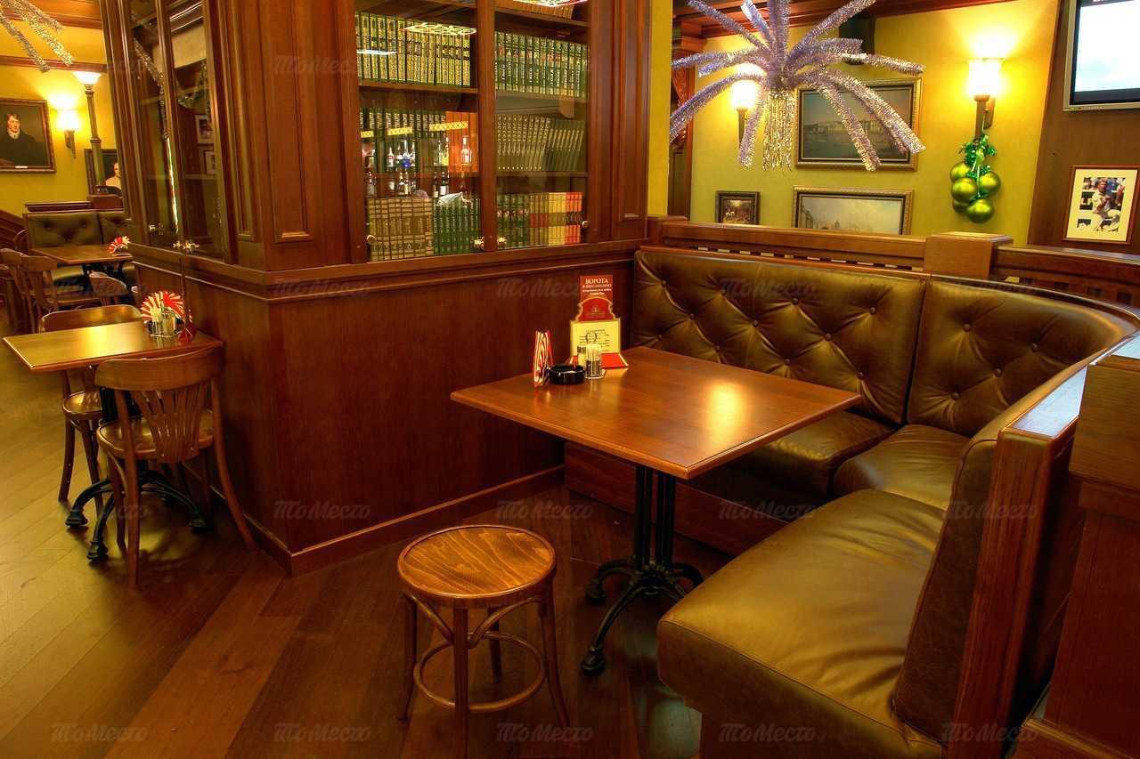 Меню паба, пивного ресторана Темпл Бар (Temple Bar) на Ладожской улице