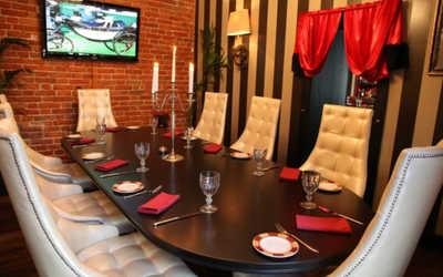 Банкетный зал стейк-хауса Ти-Бон Wine (Ти-Бон Вайн) на улице Петровка фото 1