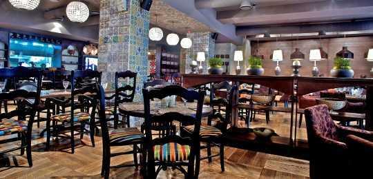 Меню кафе Чентрале на Кутузовском проспекте