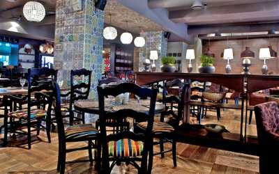 Банкетный зал кафе Чентрале на Кутузовском проспекте фото 2