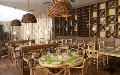 Банкетный зал кафе Чентрале на Кутузовском проспекте