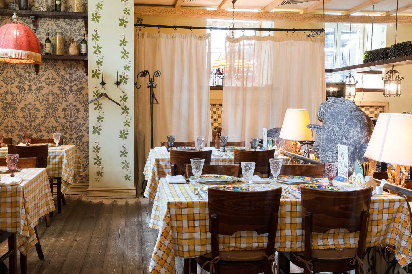 Ресторан Бенвенуто на Сретенском бульваре фото 3