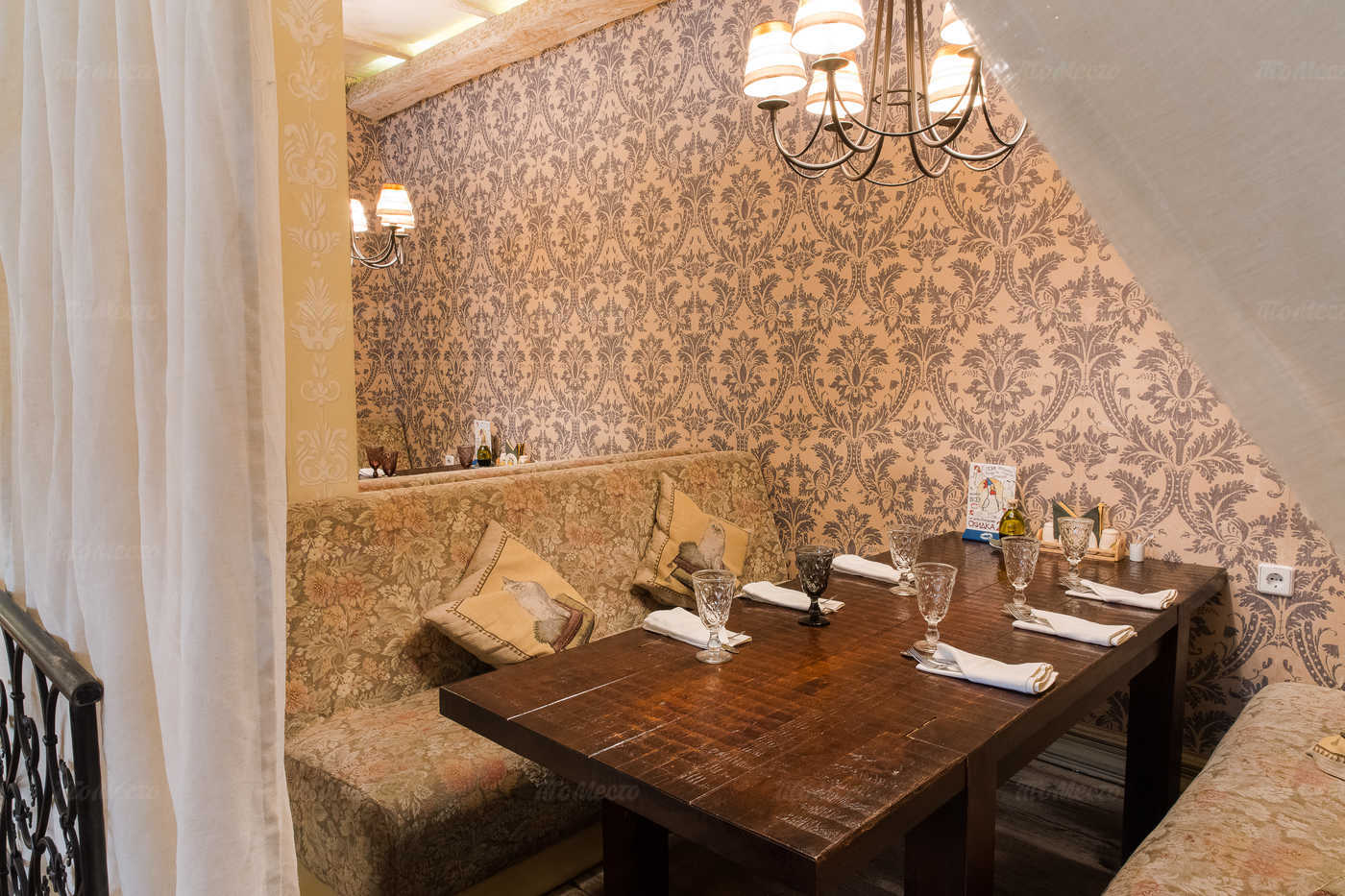 Ресторан Бенвенуто на Сретенском бульваре фото 8