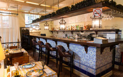 Банкетный зал ресторана Бенвенуто (Benvenuto) на Сретенском бульваре
