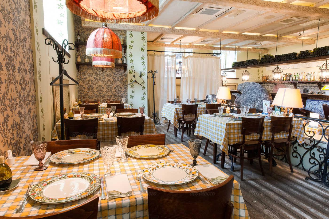 Меню ресторана Бенвенуто (Benvenuto) на Сретенском бульваре