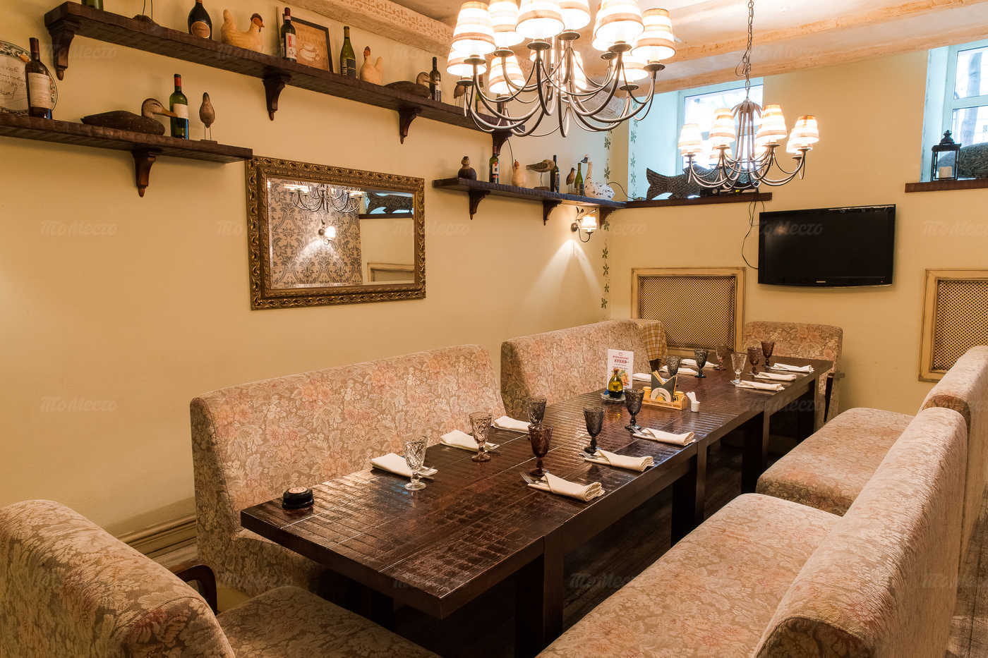 Ресторан Бенвенуто на Сретенском бульваре фото 7