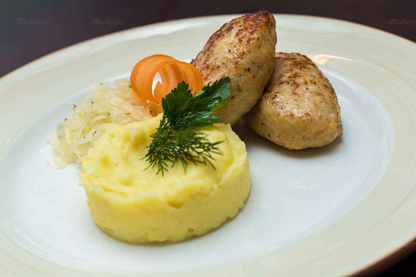 Меню кафе Де Марко (De Marco) на Смоленской-Сенной площади фото 11