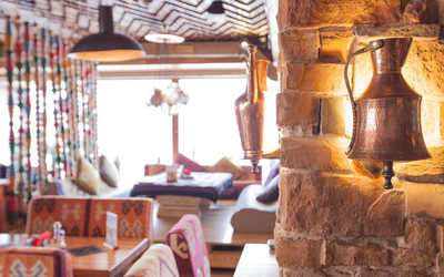 Банкетный зал ресторана Чайхона №1 Тимура Ланского (Chayhona № 1) на Бутлерова фото 2