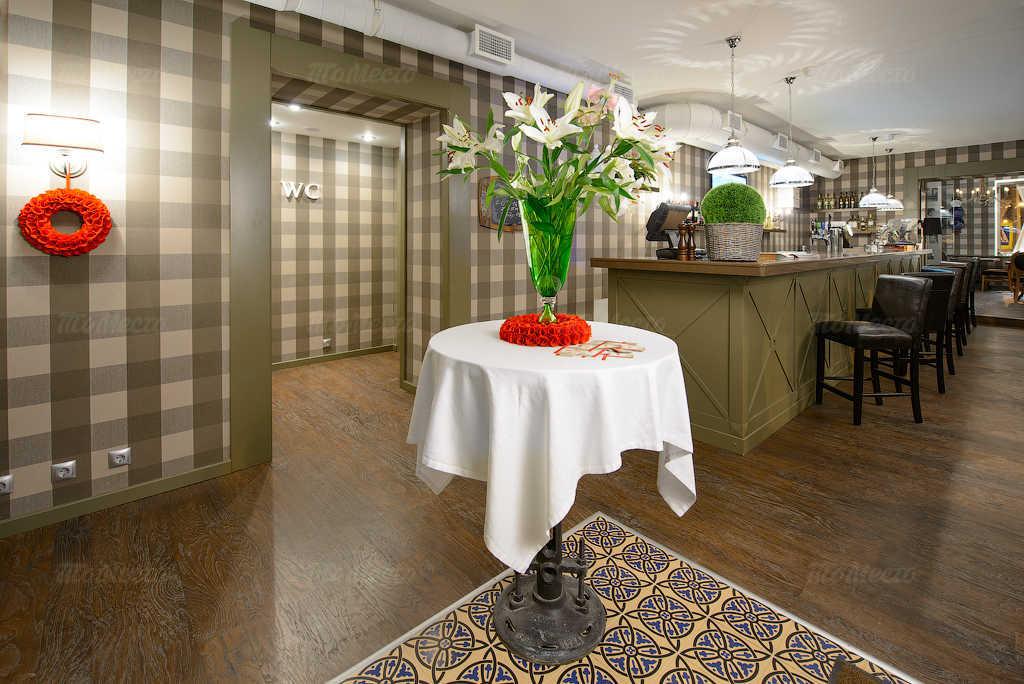 Меню ресторана, стейк-хауса Bullhouse (Буллхаус) на Среднем проспекте В.О.