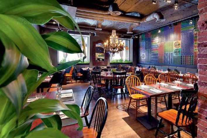 Меню бара, ресторана Рони (Roni) на улице Петровка