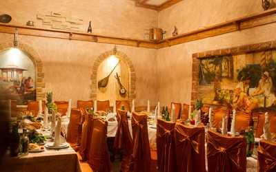Банкетный зал ресторана Бакинский дворик на Русаковской улице фото 2