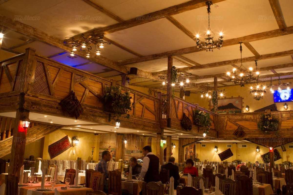 Меню ресторана Бакинский дворик на Русаковской улице