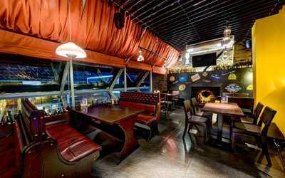 Банкетный зал пивного ресторана Квакинн (KwakInn) на проспекте Испытателей фото 2