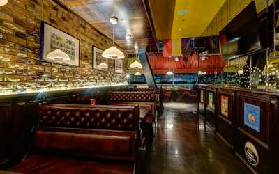 Банкетный зал пивного ресторана Квакинн (KwakInn) на проспекте Испытателей
