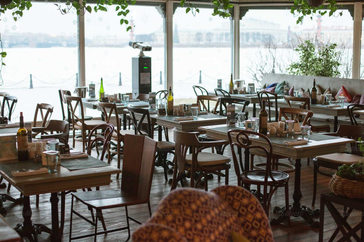 Меню ресторана Корюшка в Петропавловской Крепости