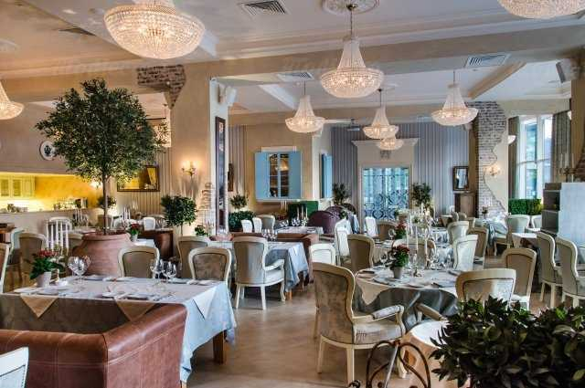 Меню ресторана La Panorama (Ля Панорама) на Севастопольском проспекте
