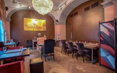 Банкетный зал бара, кафе Маяковский в Почтамтском переулке