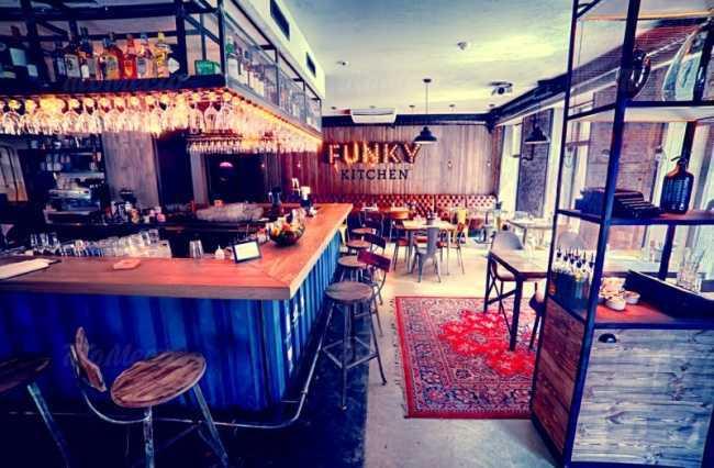 Меню бара, ресторана Funky Kitchen (Фанки Китчен) на Малом проспекте П.С.