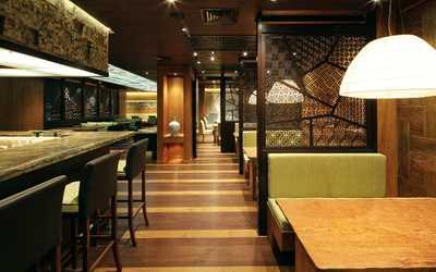 Банкетный зал бара, ресторана Макото на Краснопресненской набережной