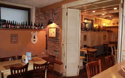Банкетный зал пивного ресторана Крафт бир (Craft Bier) на Моховой улице фото 2