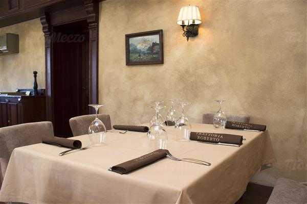 Ресторан Траттория Роберто (Trattoria Roberto) на набережной реки Фонтанки фото 15