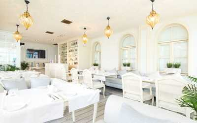 Банкетный зал ресторана Белый на улице Арбат