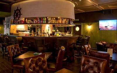 Банкетный зал бара, ресторана Порт Артур на Звенигородской улице