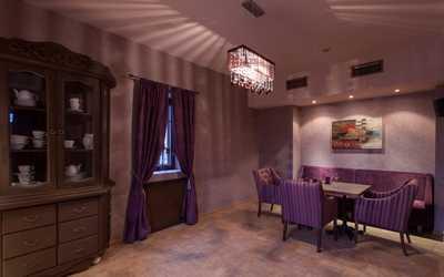 Банкетный зал ресторана Campania (Кампания) на улице Ефимовой