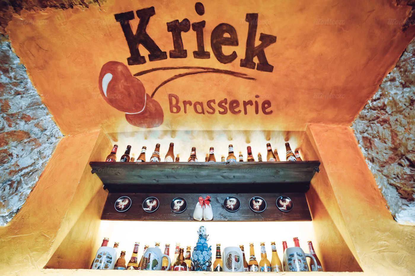 Ресторан Брассерия Крик (Brasserie Kriek) на Невском проспекте фото 8