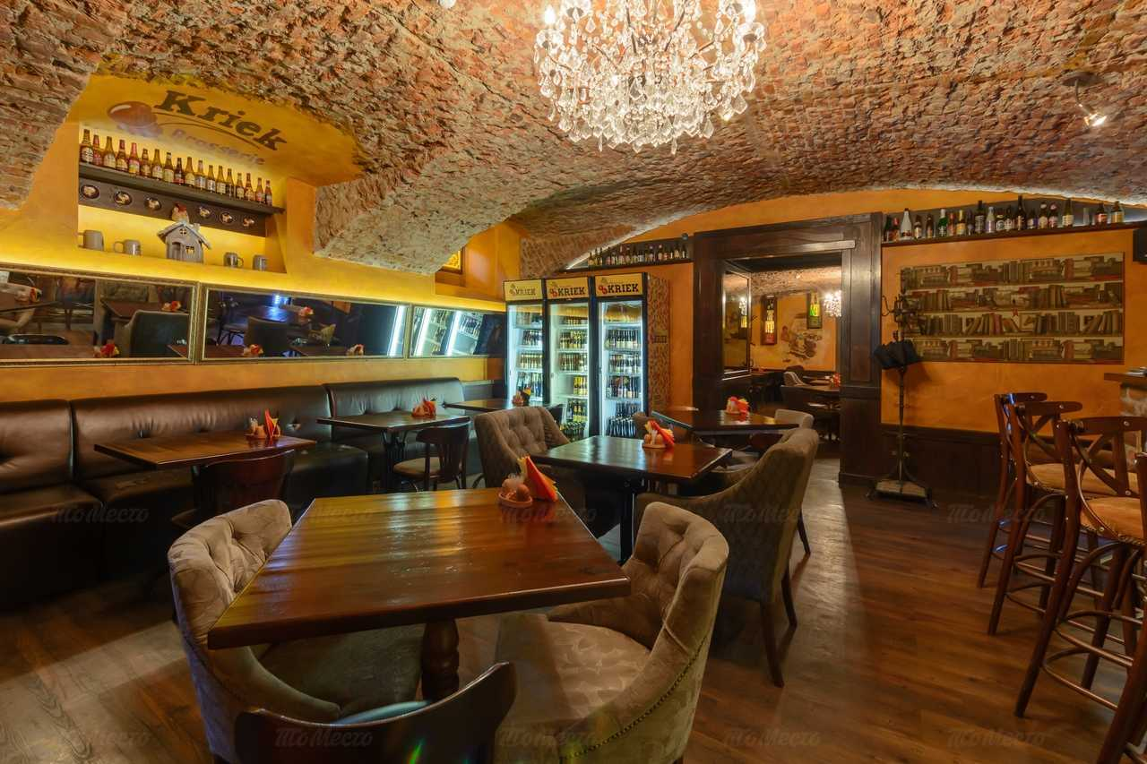 Ресторан Брассерия Крик (Brasserie Kriek) на Невском проспекте