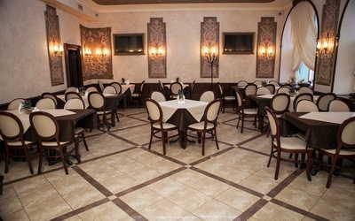 Банкетный зал кафе, ресторана Поместье на Оранжерейной улице