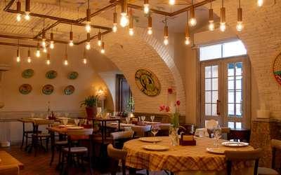 Банкеты ресторана Роберто (бывш. La Cantinetta da Roberto) на Рождественской улице фото 2