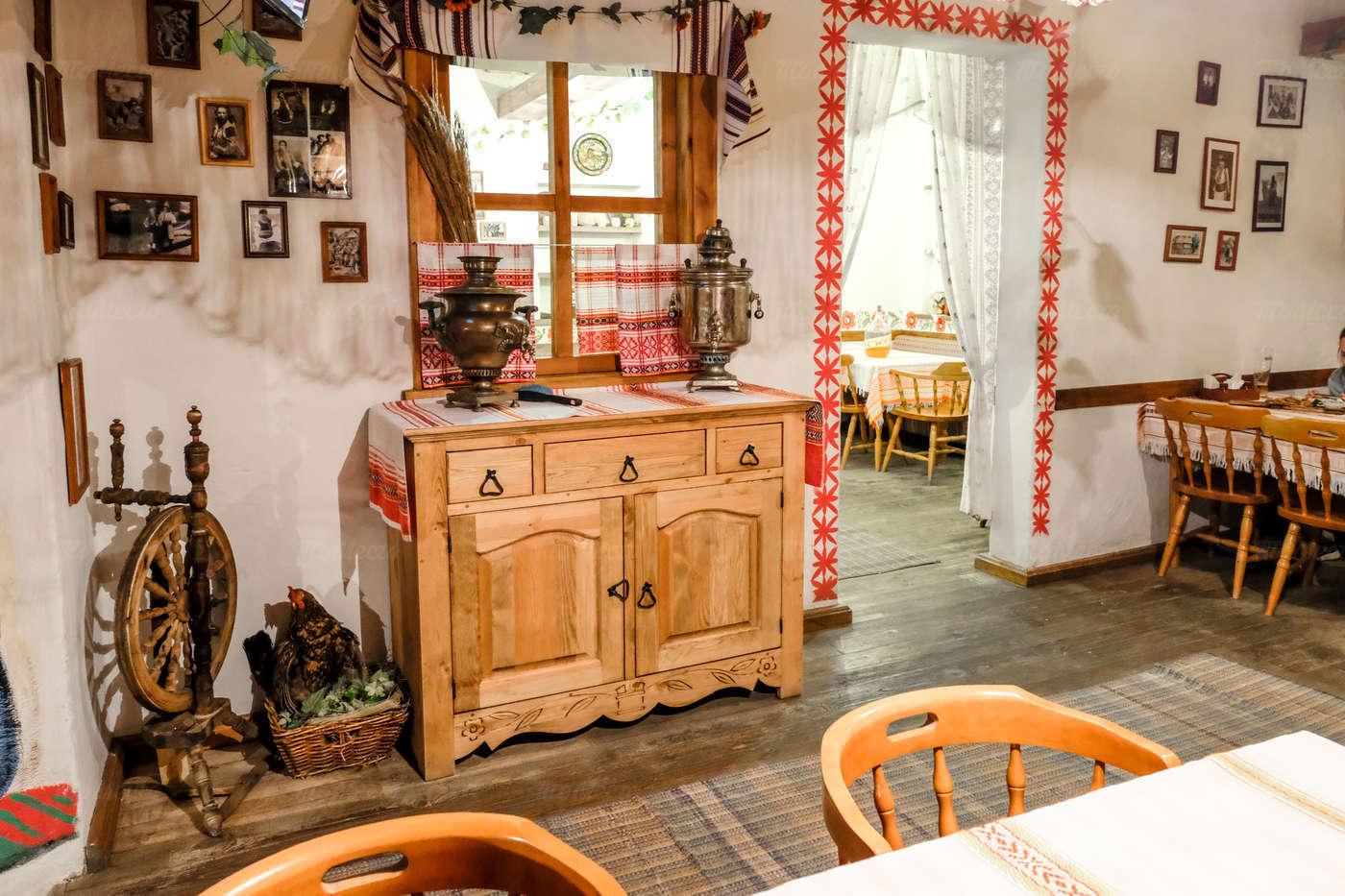 Ресторан Веселая кума на улице Костиной