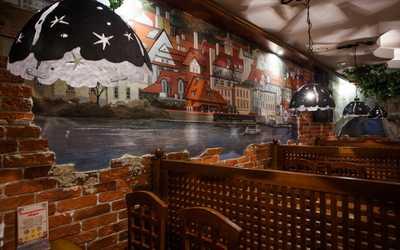 Банкетный зал пивного ресторана Дружкова кружка (PRAHA) на Большой Покровской улице фото 3