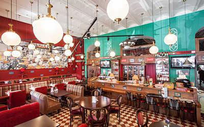 Банкетный зал кафе, ресторана Гаврош на Рождественской улице