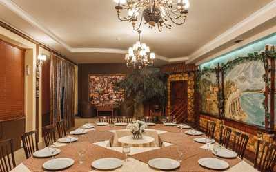Банкетный зал ресторана Плакучая ива в Нижне-Волжской фото 2