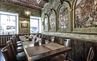 Банкетный зал пивного ресторана Кабанчик на Рождественской улице фото 3