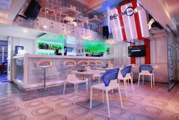 Меню бара Central Bar на Рождественской улице