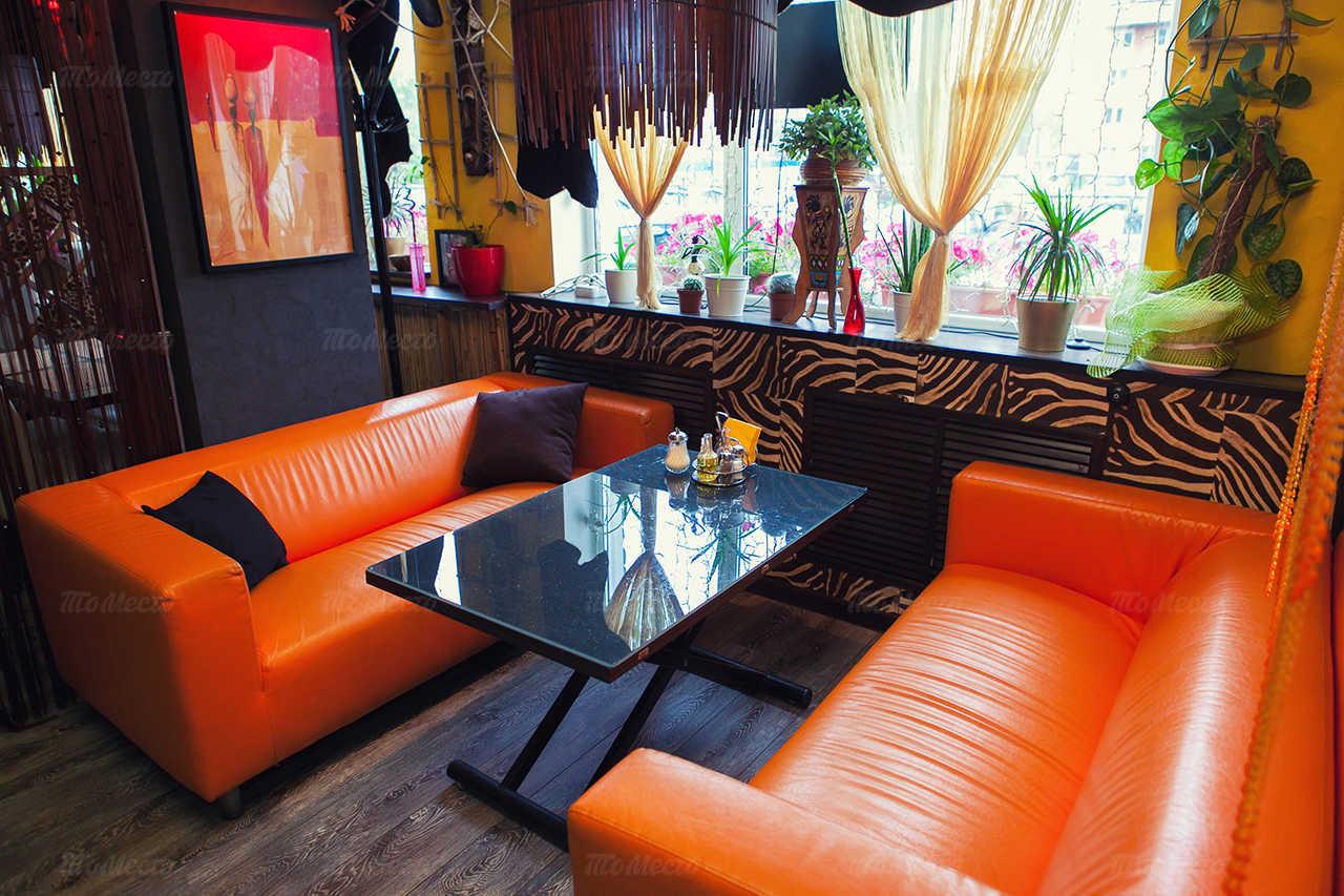 Меню кафе Африка на Московском шоссе