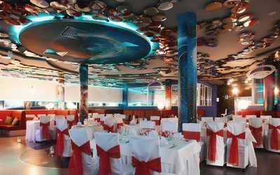 Банкетный зал ночного клуба, ресторана Future (Будущее) на проспекте Просвещения
