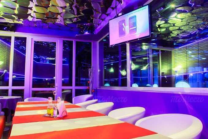 Меню ночного клуба, ресторана Future (Будущее) на проспекте Просвещения