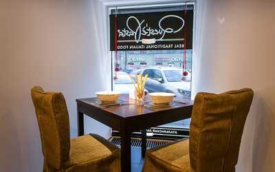 Банкетный зал кафе Quest'è Pasta на Владимирском проспекте