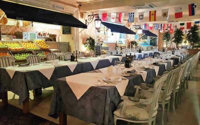 Банкетный зал ресторана La Taverna (Ла Таверна) в Шмитовском проезде